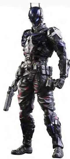 Batman Play Arts Kai Arkham Knight Action Figure