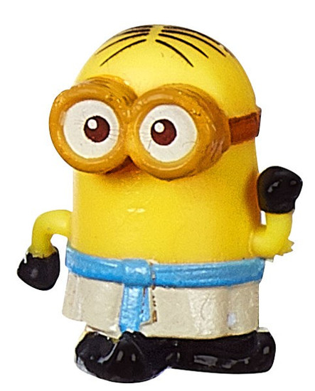 Despicable Me Minions Movie Challenge Card Game Egyptian Phil 1-Inch Micro Figure #12 [Loose]