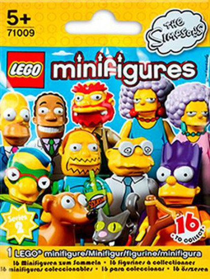 LEGO Minifigures The Simpsons Series 2 Mystery Pack #71009