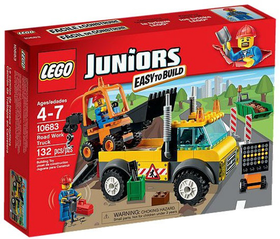LEGO Juniors Road Work Truck Set #10683