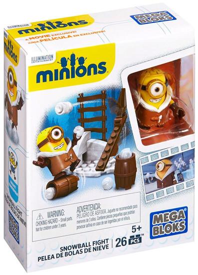 Mega Bloks Minions Snowball Fight Set #38017