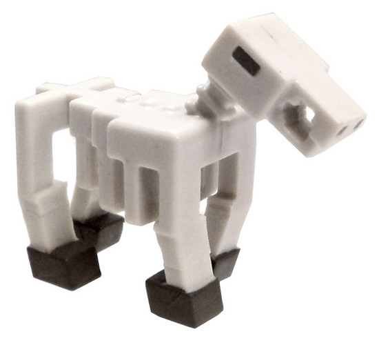 Minecraft Netherrack Series 3 Skeleton Horse 1-Inch Mini Figure [Loose]