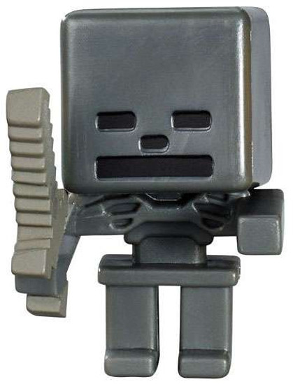 Minecraft Netherrack Series 3 Wither Skeleton 1-Inch Mini Figure [Loose]