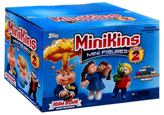 Garbage Pail Kids Topps MiniKins Series 2 Mini Figure HOBBY Box [24 Packs]