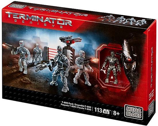 Mega Bloks Terminator Genisys T-800 Pack Set #38071