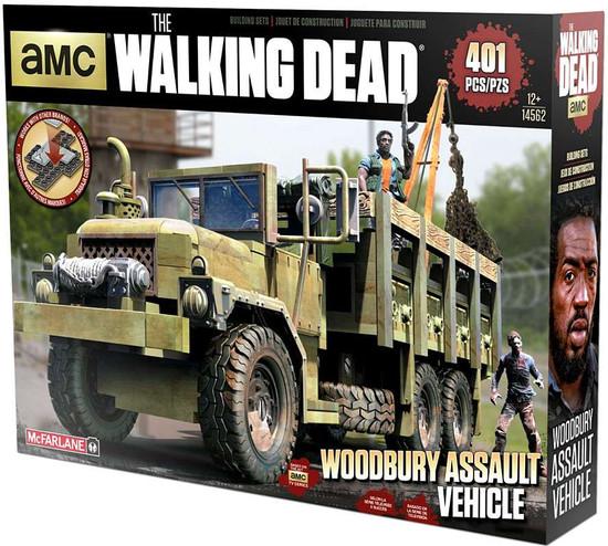 McFarlane Toys The Walking Dead Woodbury Assault Vehicle Building Set
