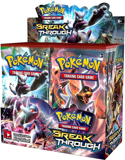 Pokemon Trading Card Game XY BREAKthrough Booster Box [36 Packs]