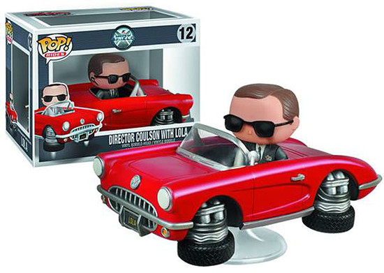 Funko Agents of S.H.I.E.L.D POP! Marvel Director Coulson with Lola Vinyl Figure #12