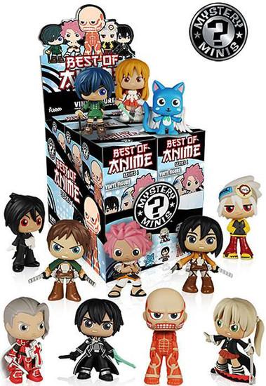 Funko Mystery Minis Anime Series 1 Mystery Box [12 Packs]