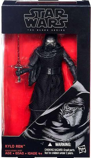 Star Wars The Force Awakens Black Series Kylo Ren Action Figure [6 Inch]