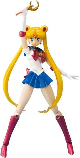 S.H. Figuarts Pretty Guardian Sailor Moon Action Figure [2nd Version]
