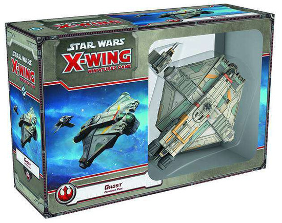 Star Wars X-Wing Miniatures Game Ghost Expansion Pack