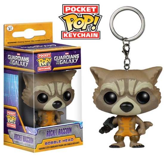 Funko Guardians of the Galaxy POP! Marvel Rocket Raccoon Keychain