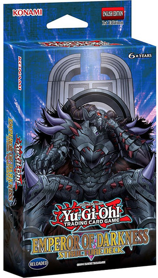 YuGiOh Trading Card Game The Emperor of Darkness (1st Edition) Structure Deck