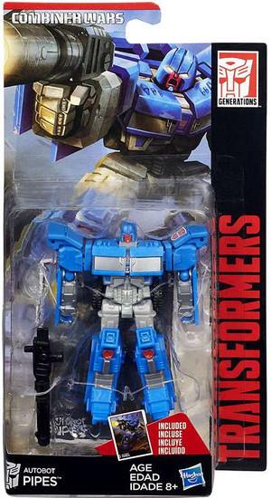 Transformers Generations Combiner Wars Autobot Pipes Legend Action Figure