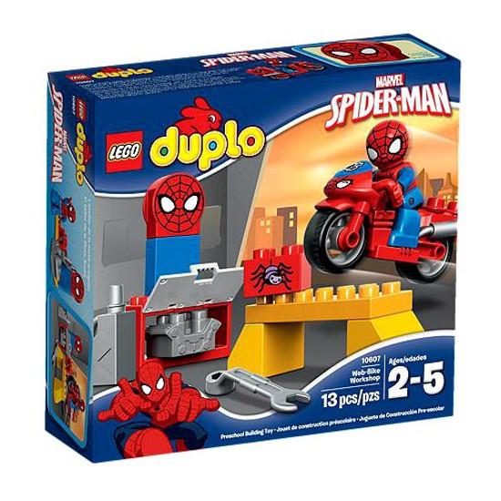 LEGO Duplo Spider-Man Web-Bike Workshop Set #10607