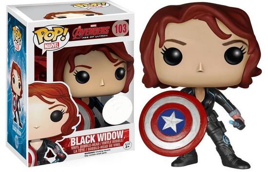 Funko Avengers Age of Ultron POP! Marvel Black Widow Exclusive Vinyl Figure #103