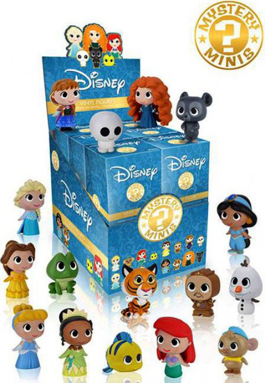 Funko Disney Mystery Minis Princesses Mystery Box [12 Packs]