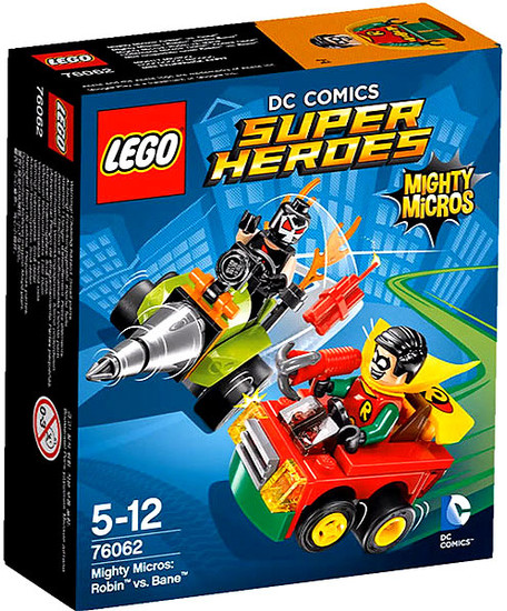 LEGO DC Super Heroes Mighty Micros Robin vs. Bane Set #76062