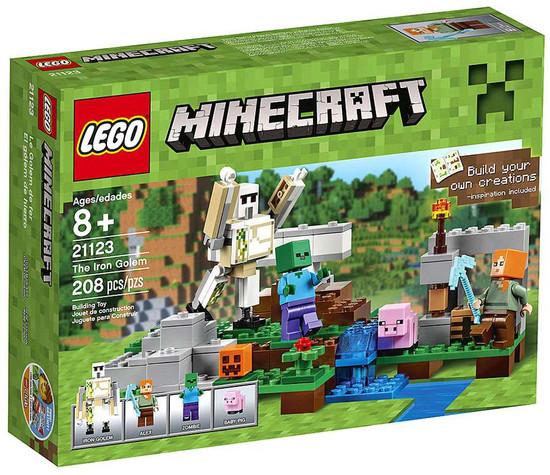 LEGO Minecraft The Iron Golem Set #21123