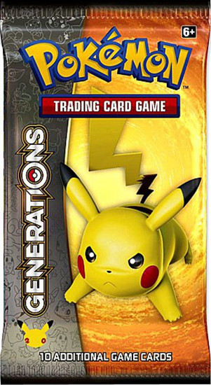 Pokemon Trading Card Game Generations Booster Pack [10 Cards]