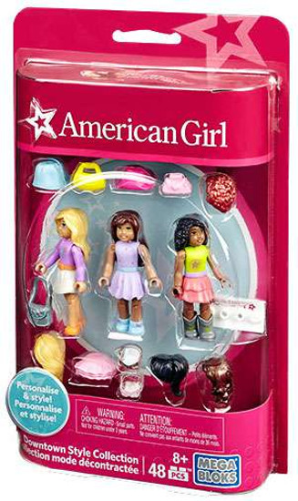 Mega Bloks American Girl Downtown Style Collection Set #33093