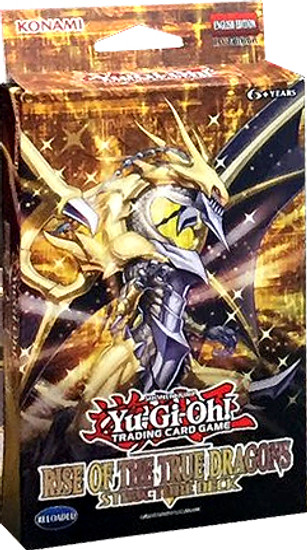 YuGiOh Trading Card Game Rise of the True Dragons Structure Deck
