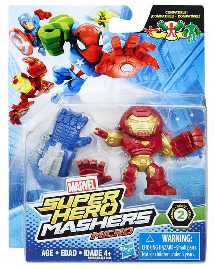 Marvel Super Hero Mashers Micro Series 2 Hulk Buster 2-Inch Mini Figure