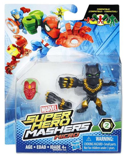Marvel Super Hero Mashers Micro Series 2 Black Panther 2-Inch Mini Figure