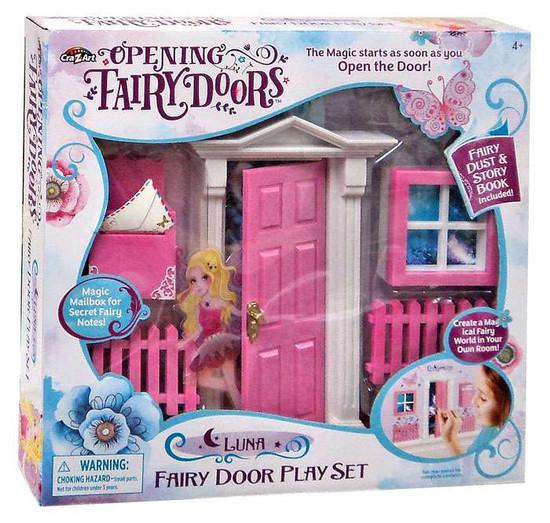 Opening Fairy Doors Luna Fairy Door Playset