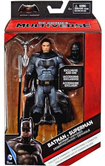DC Batman v Superman: Dawn of Justice Multiverse Grapnel Blaster Series Batman Unmasked Exclusive Action Figure
