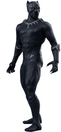 Marvel Civil War Movie Masterpiece Black Panther Collectible Figure [Civil War]