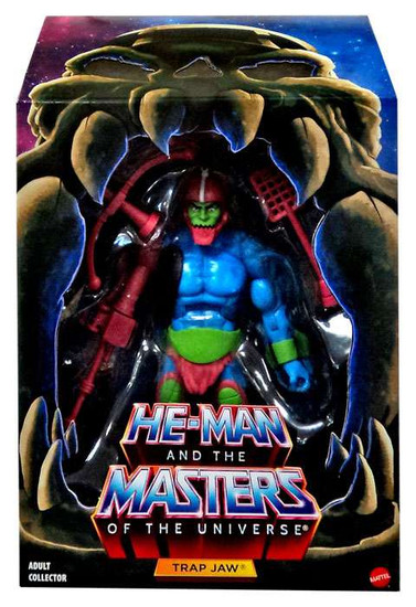 Masters of the Universe Classics Club Grayskull Trap Jaw Action Figure