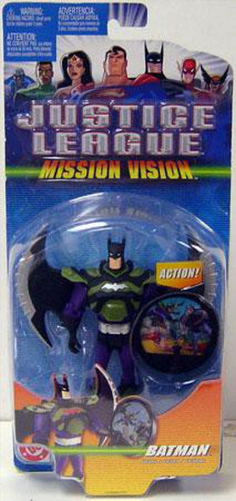 Justice League Mission Vision Batman Action Figure [Holographic Shield]