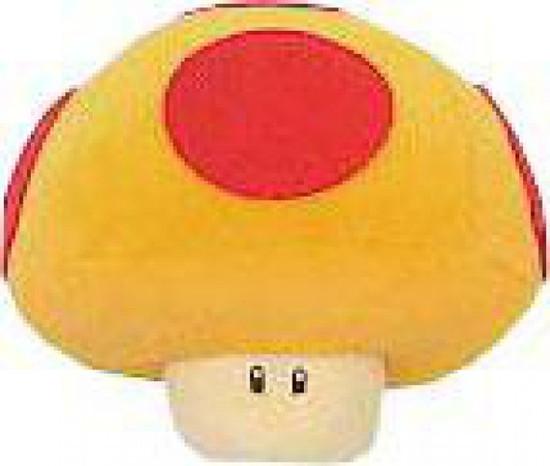 Super Mario Super Mushroom 5-Inch Plush