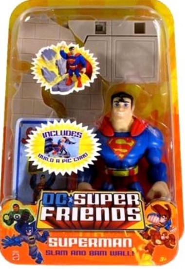 DC Super Friends Superman Action Figure [Slam and Bam]