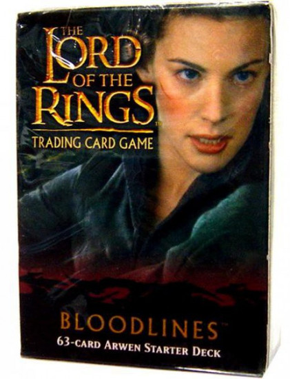 The Lord of the Rings Trading Card Game Bloodlines Arwen Starter Deck