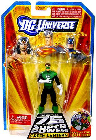 DC Universe 75 Years of Super Power Infinite Heroes Green Lantern Action Figure