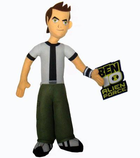 Alien Force Ben 10 20-Inch Plush Figure
