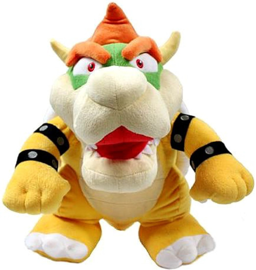 Super Mario Bros Bowser 16-Inch Plush