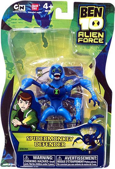 Ben 10 Alien Force Spidermonkey Action Figure [Defender, 2011]