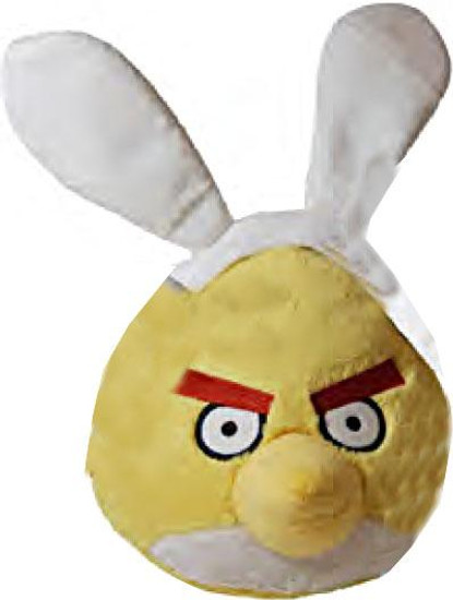 Angry Birds Yellow Bird 8-Inch Plush [Easter]
