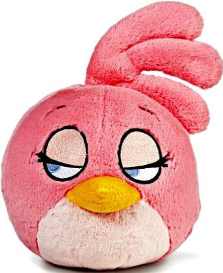 Angry Birds Pink Bird 8-Inch Plush [With Sound]