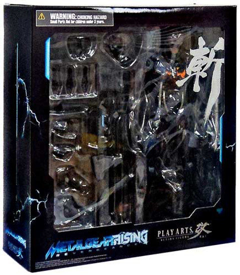 Metal Gear Solid Metal Gear Rising Revengeance Play Arts Kai Raiden Action Figure