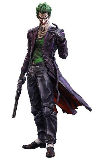 Batman Arkham Origins Play Arts Kai The Joker Action Figure