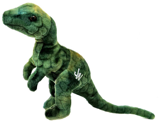 Jurassic World Velociraptor 7-Inch Plush [Green]