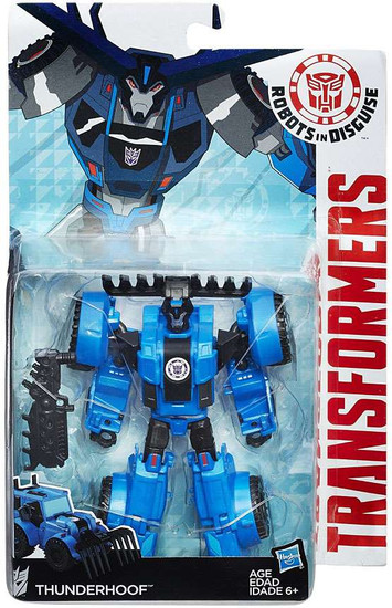 Transformers Robots in Disguise Thunderhoof Warrior Action Figure