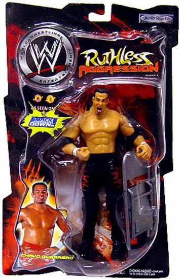 WWE Wrestling Ruthless Aggression Series 4 Chavo Guerrero Action Figure