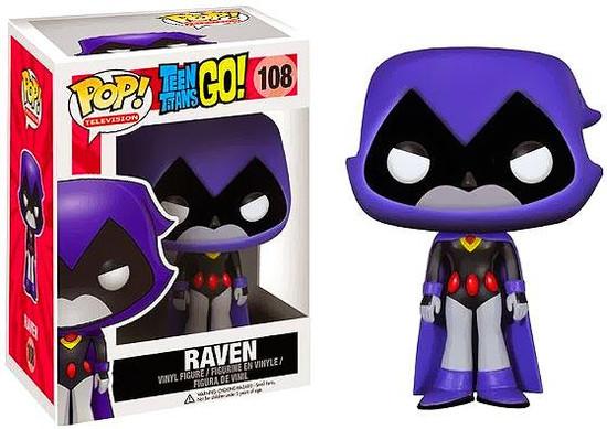 Funko Teen Titans Go! POP! TV Raven Vinyl Figure #108 [Purple]