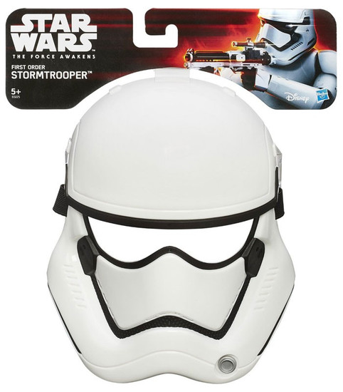 Star Wars The Force Awakens First Order Stormtrooper Mask Roleplay Toy